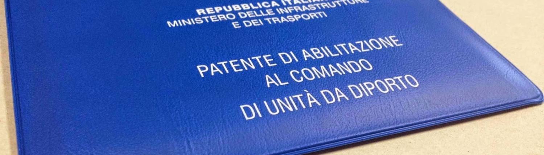 rinnovo patente nautica genova